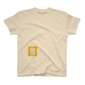 スイッチ(常にオン) T-shirts