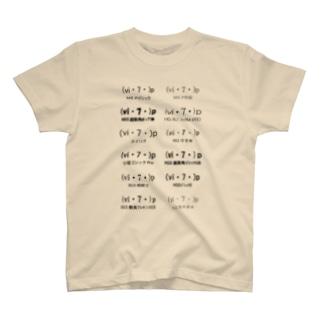 ゾナー(フォント) T-shirts