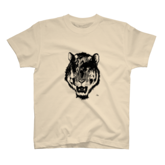 OFFICE JOEのEarth Tiger T-shirts