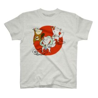 オタゲー妖狐 Tシャツ