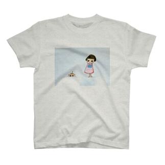 ぶーんなおんなのこ Tシャツ