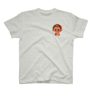 真実を見つめるおんなのこ Tシャツ