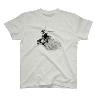 """浦島太郎 """"The Fisher-boy Urashima"""" Tシャツ"""