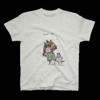 ほっかむねこ屋@10/5~10/10 吉祥寺駅 期間限定ショップのcool off Tシャツ