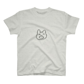 あくびうさぎ Tシャツ