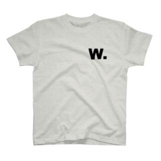 だぼりゅー Tシャツ