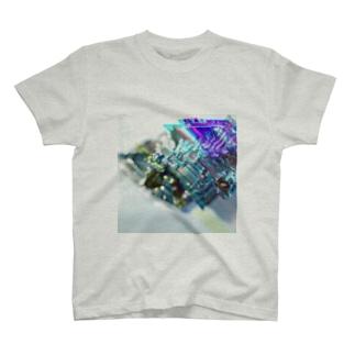 Bi+glitch Tシャツ
