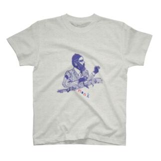 monk T Tシャツ