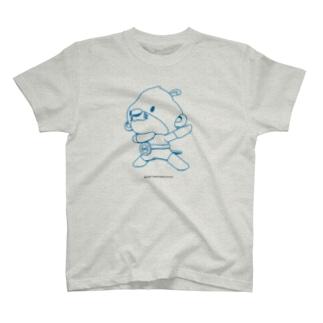 カワマジー変身ポーズ Tシャツ