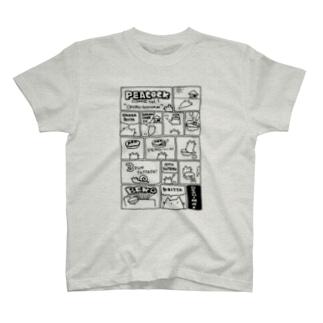 ぴーこっく漫画その1 Tシャツ
