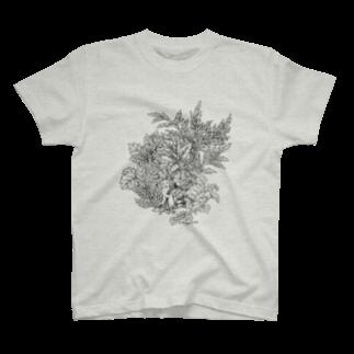 PygmyCat suzuri店のPygmyCat(黒線ver)Tシャツ