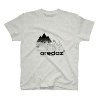ヒーローは俺達DAZu!あらえびすスタッフ Tシャツ