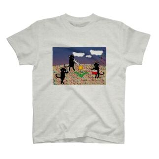 虹色の砂 Tシャツ