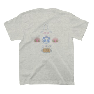 餃子定食パンダ T-shirts