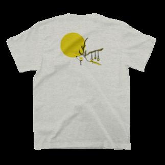 Aki Miyoshiの月とシカ T-shirts