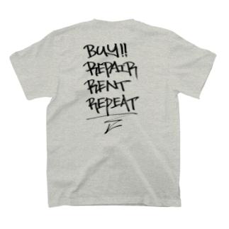 buy.repair.rent.repeat T-shirts