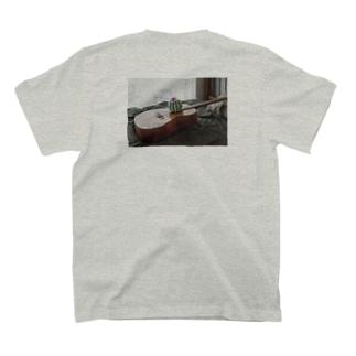 ジャケ写プリント T-shirts