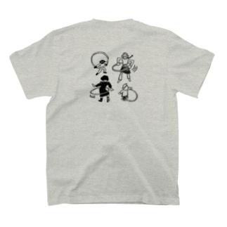 フラフープする子ども T-shirts