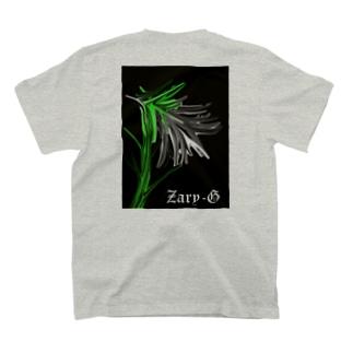 ユリ かっこよく咲いてくれ(n*´ω`*n) T-shirts