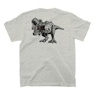 へっずの恐竜 T-Shirt