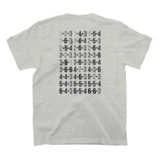 ゲッツーTシャツ ※背面プリント T-Shirt