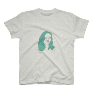 しろめ女子 #05 T-shirts