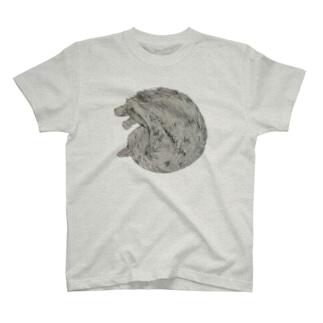 まるい ねこ  T-shirts