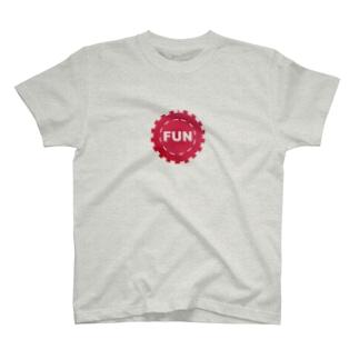仮想通貨 FunFair ロゴ T-shirts