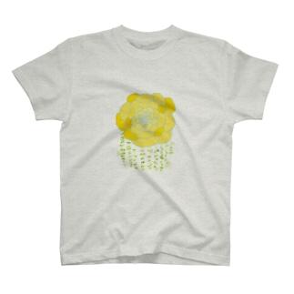 きいろの花 T-shirts