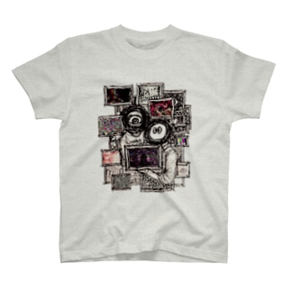 テレビの二人組 T-shirts