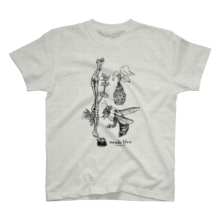 Kumanbachi , Bone of house & Spring plants T-shirts