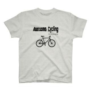 最高 Cycling(黒文字) T-shirts