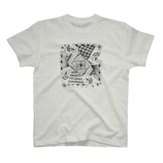 windmill -風車-(淡色ボディ用) T-shirts