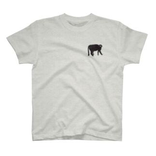 くろねこさん Tシャツ