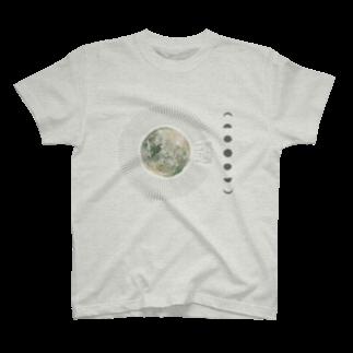 ラビッシュアートのmy name is MOON T-shirts