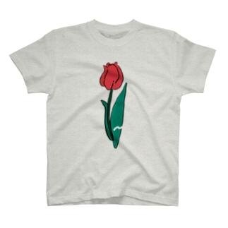ちゅ〜りっぷ T-shirts