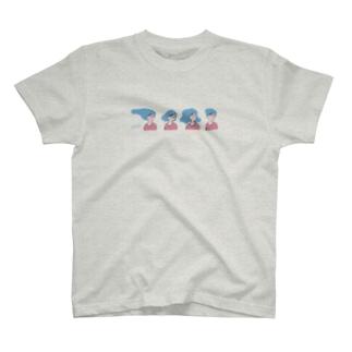 【チチチアニメーション研究シリーズNo.4】春のイメチェン T-shirts