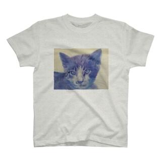 渋色猫 T-shirts