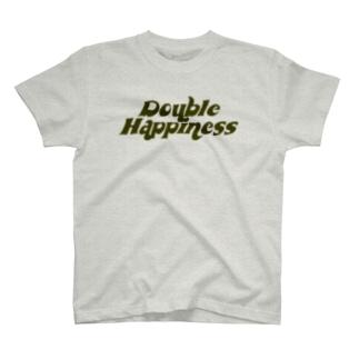 バブリーハピネス カーキ T-shirts