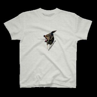 tiremenのKYOUBOU NA INU T-shirts
