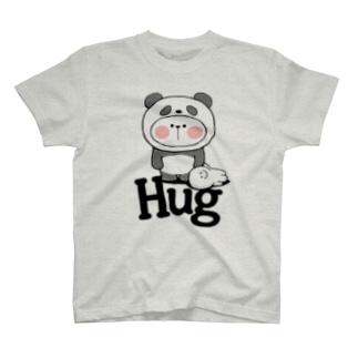 Spoiled Rabbit - Panda / あまえんぼうさちゃん - パンダ T-shirts
