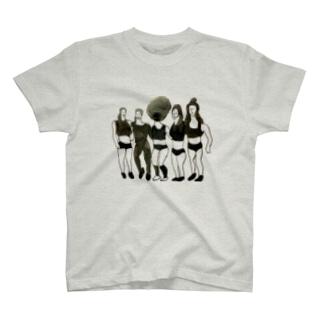 JFF(ジョギングフレンドフォーエバー) T-shirts