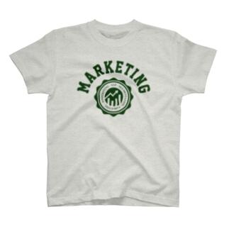マーケティング(緑) T-shirts