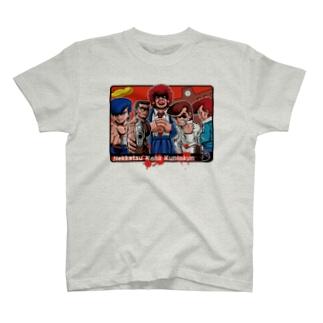 Nekketsu Koha-Ver01 T-shirts