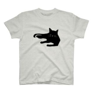うたたねくろねこ T-shirts