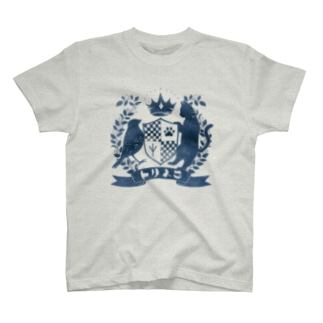 トリネコエンブレム(青) T-shirts
