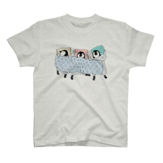 3羽でスヤァ T-shirts