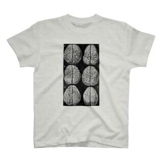 さまざまな脳みそ T-shirts