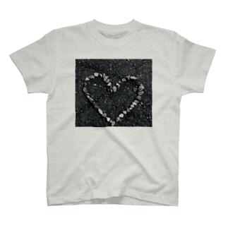 ハートストーン T-shirts