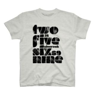 NicoRock 2569のtwofivesixninenicorock T-shirts
